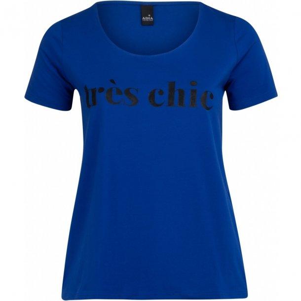 Chic T-Shirt Blå