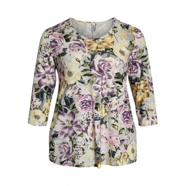 e1a5250f Bluse Flower - Bluse 3/4 ærme - scooponline