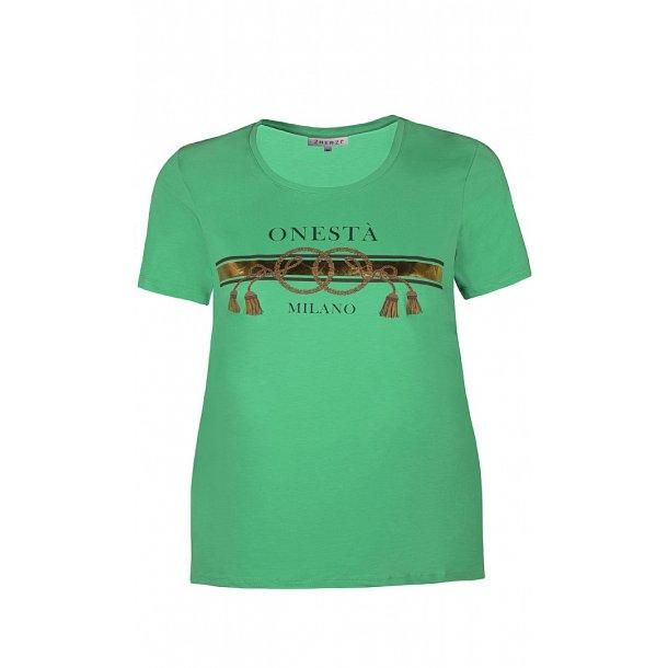 eefbf7ee056c Eris T-Shirt Grøn - Bluse kort ærme - scooponline
