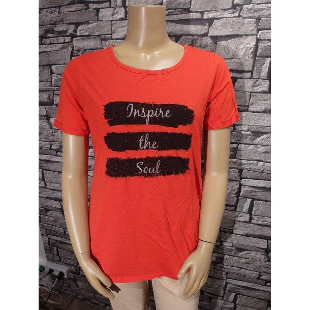 T-Shirt Rød